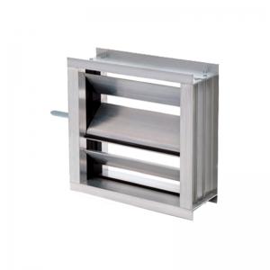 DAMPER Con alabes de Aluminio S&P