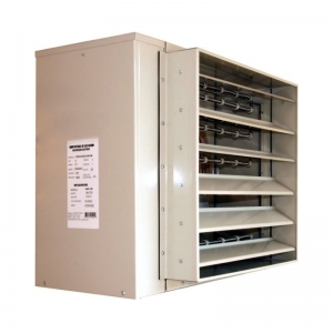 Calefactor industrial a gas fuego directo extractores de - Calefaccion de gas o electrica ...