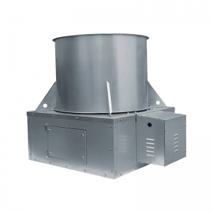 Extractor con Compuerta Transmisión con Poleas-Bandas  S&P